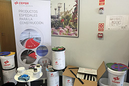 Cepsa develops a new emulsion capable of waterproofing large surfaces in record time