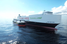 Cepsa will supply Liquefied Natural Gas to ships from the first European multi-product barge
