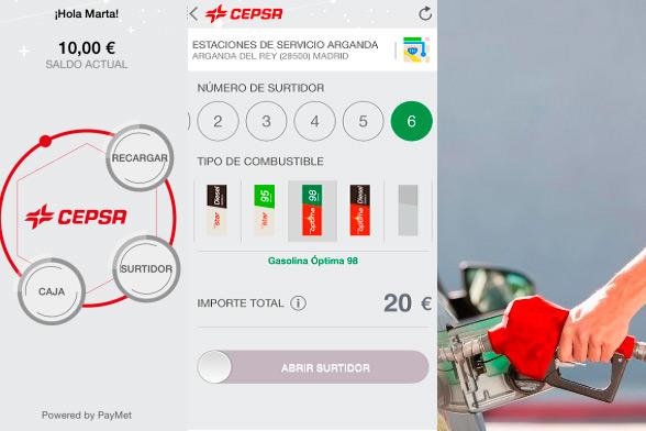 """Cepsa lanza """"Cepsa Pay"""", una app para repostar desde el móvil"""
