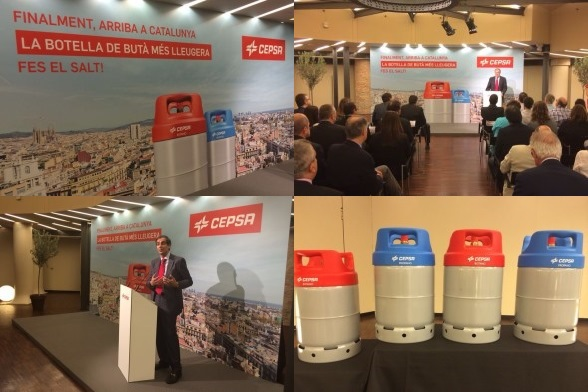 CEPSA starts to market its gas bottles in Catalonia