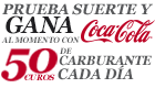 Consigue carburante Gratis con Coca-Cola