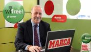 Vicente del Bosque puts CEPSA´s Wifree to test