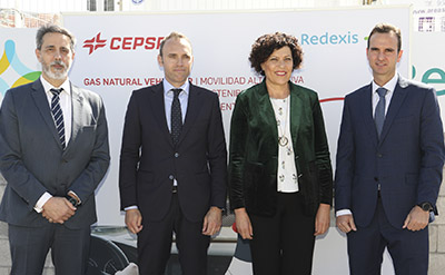 The opening was attended by Eduardo Piné, General Director of Energy and Industrial and Mining Activity in the Region of Murcia, María Ángeles Túnez, Mayor of Puerto Lumbreras, Jose María Salor, regional director of Cepsa Service Stations in the south zone, and Óscar Baidez, regional director of Redexis in Murcia.<br>
