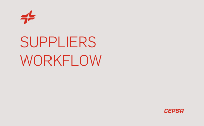 Suppliers Workflow